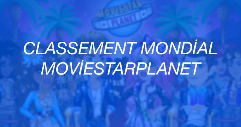 Classement mondial MovieStarPlanet